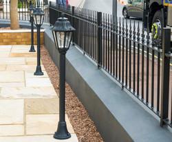 Wall topper railings