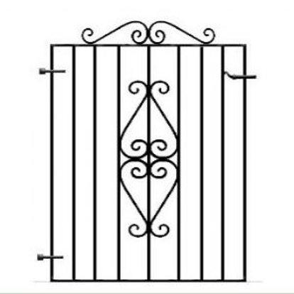 Torbay Metal Garden Gate