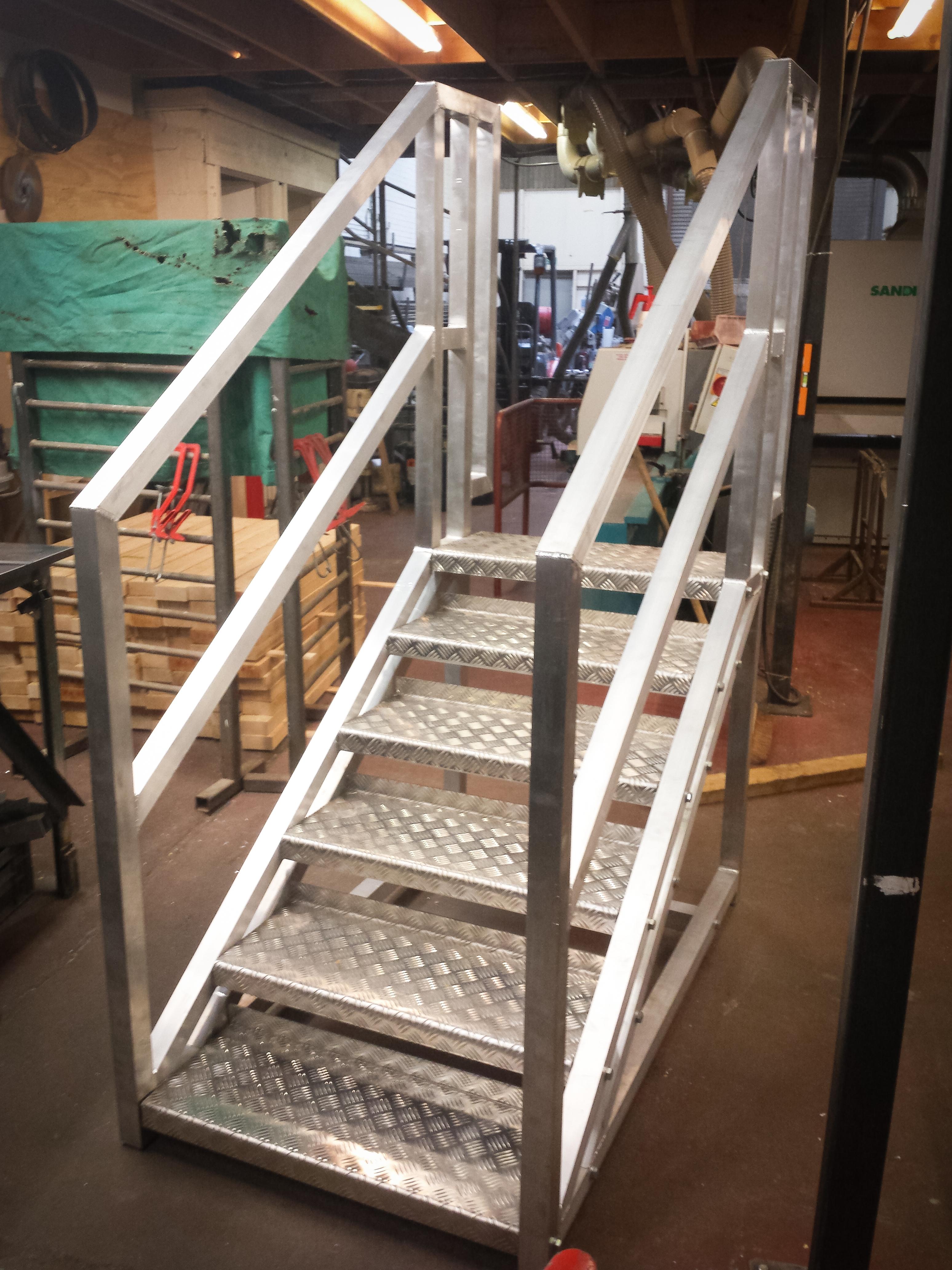 Steps aluminium