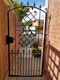 Garden and side gates