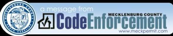 Code Enforcement Banner