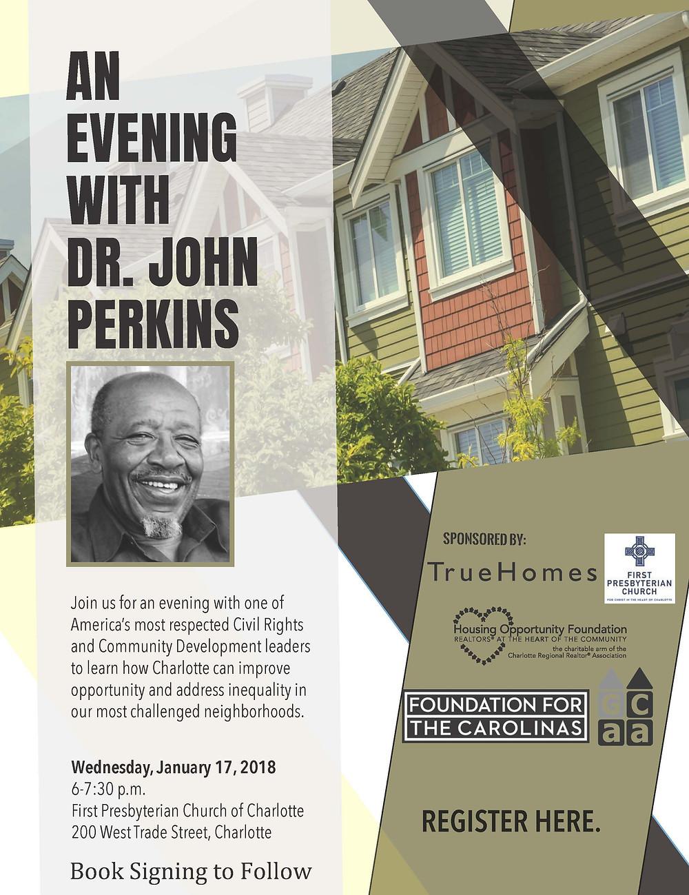 John Perkins Registration