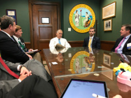 Charlotte NAIOP Members Advocate for Commercial Real Estate Issues on Capitol Hill
