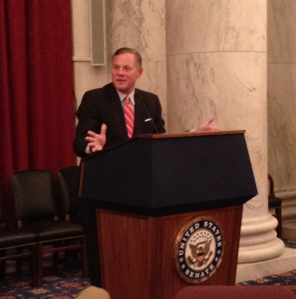 Senator Richard Burr speaks to Realtors in Washington, D.C.