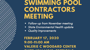 Commercial Swimming Pool Contractors Meeting