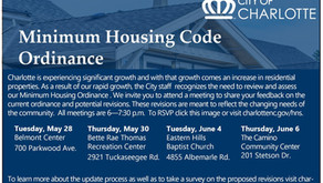 City of Charlotte Considering Revisions to Minimum Housing Standards for Landlords