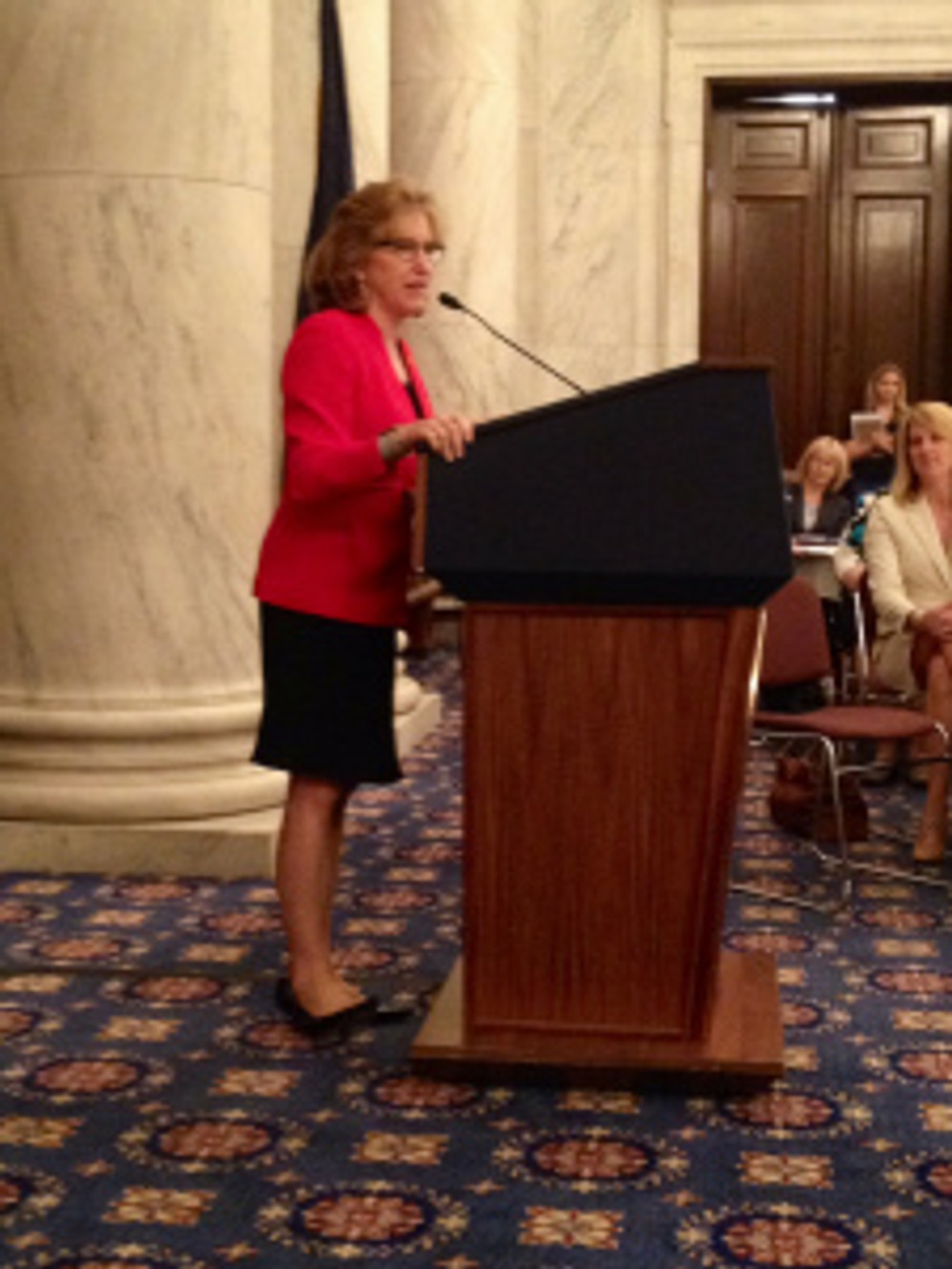 Senator Kay Hagan speaks to Realtors on Capitol Hill