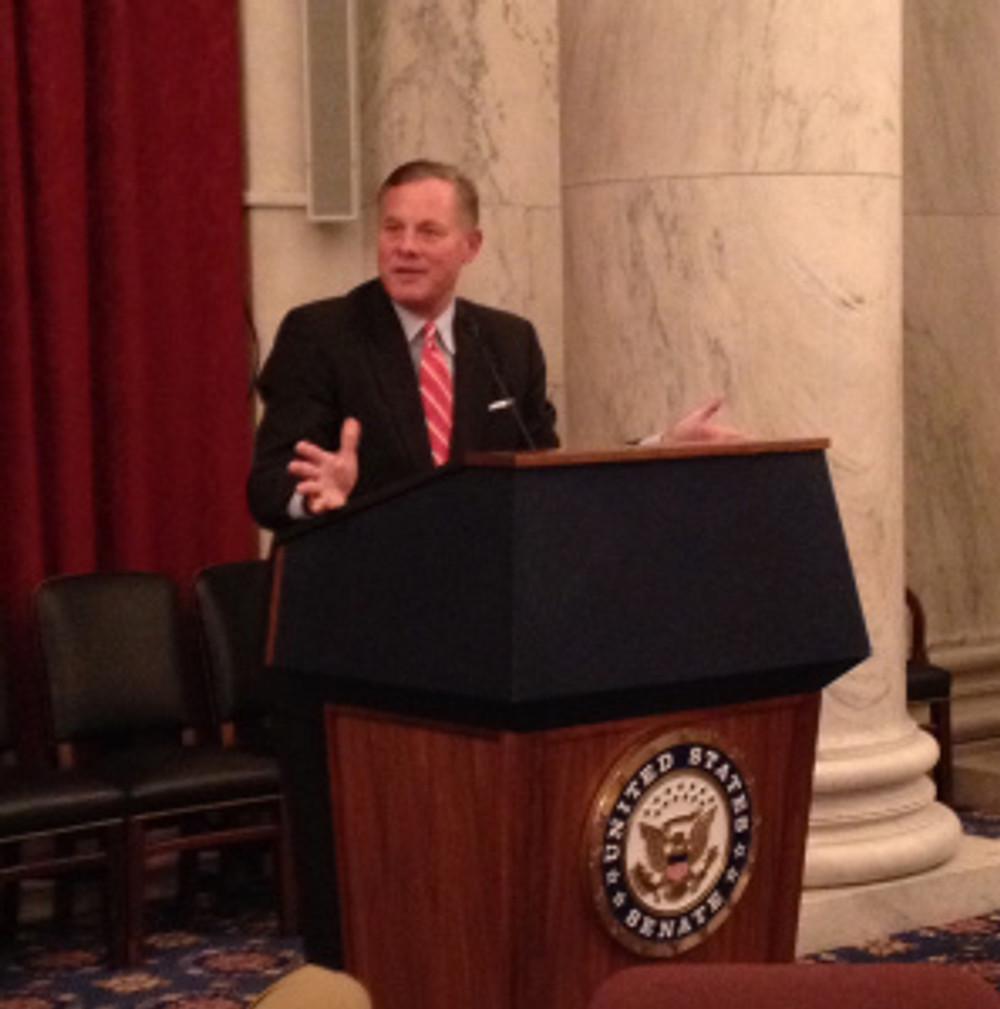 Senator Richard Burr speaks to Realtors in Washington, D.C.