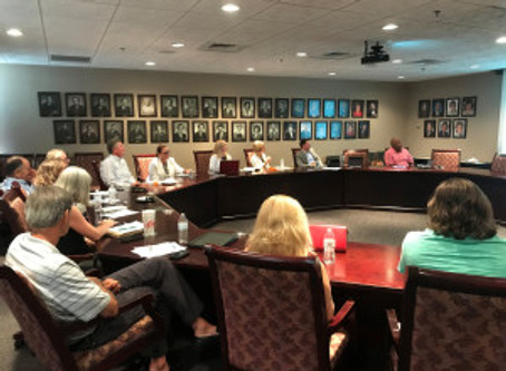 REBIC Board of Governors Meets with Charlotte Planning Team