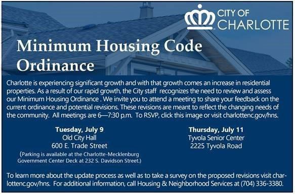 Housing Code Meetings