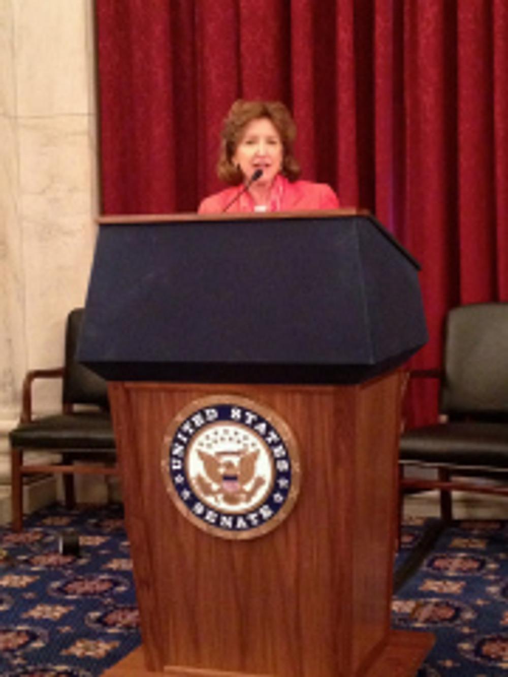 U.S. Senator Kay Hagan addresses North Carolina Realtors