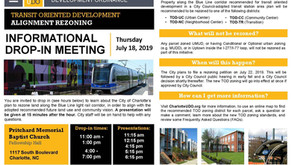 City Hosting Meeting Next Thursday on Upcoming TOD Corridor Rezonings