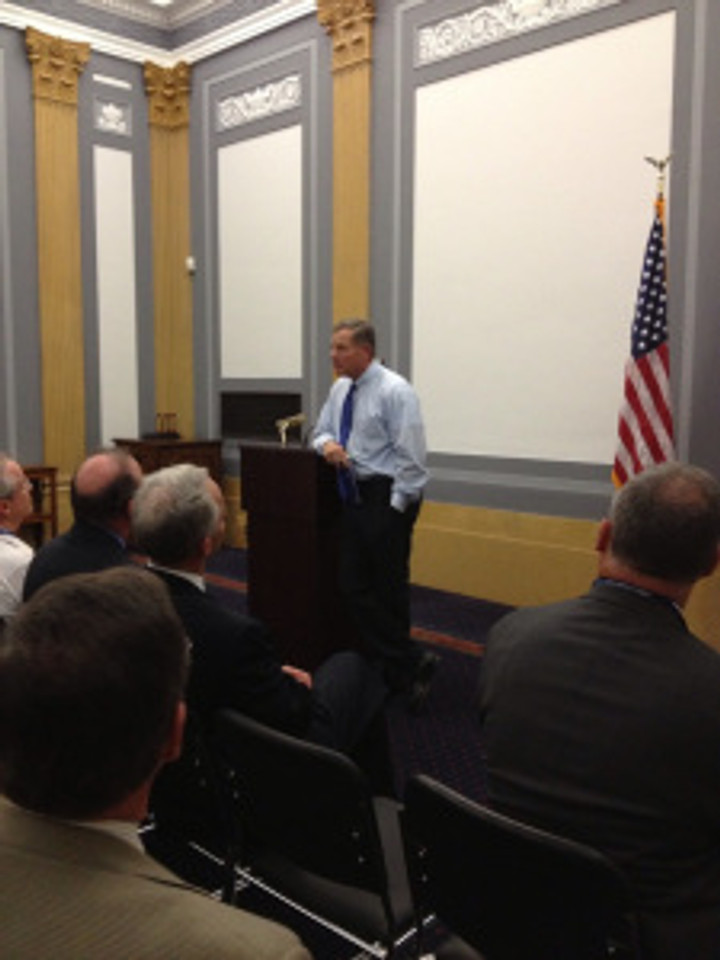 North Carolina home builders hear from Senator Richard Burr during NAHB's Legislative Conference