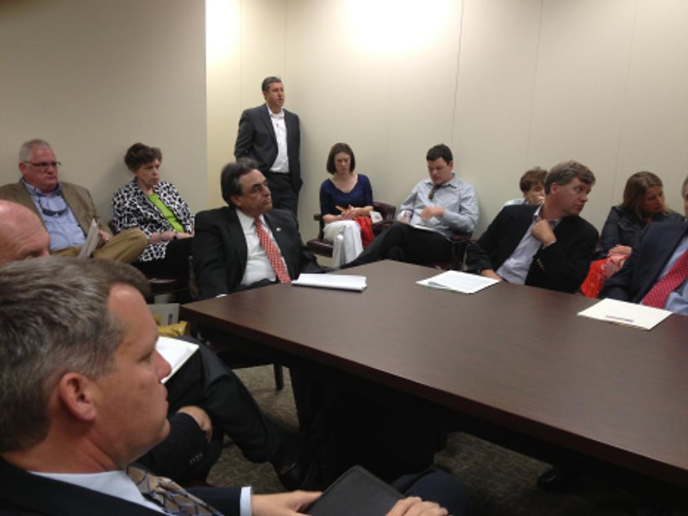 REALTORS talk Tax Reform with Sen. Bob Rucho in Raleigh