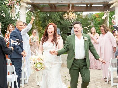 Jillian & Sara's Oct. 19th 2019 Wedding (Leann's Daughter!)