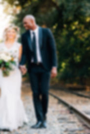 bride and groom in Sunol