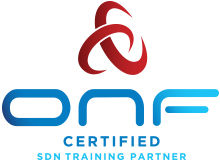 ONF Certified SDN Training Partner Logo.