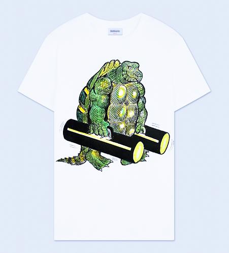Turtle Man Crew Neck T-Shirt