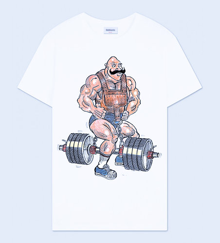 Body Builder 1 Crew Neck T-Shirt