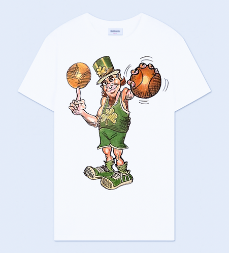 March Madness Crew Neck T-Shirt - White