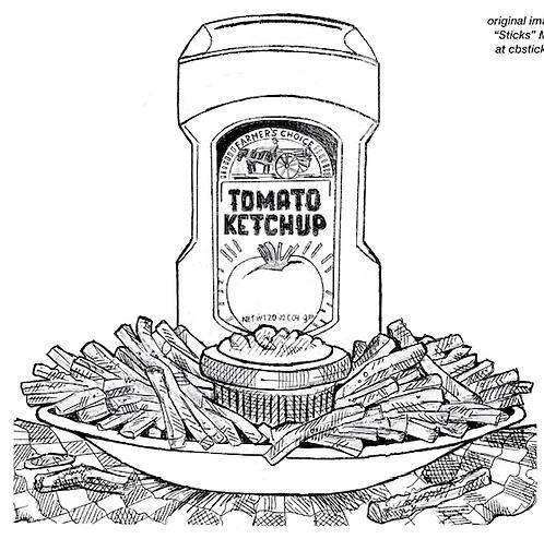 Ketchup & Fries