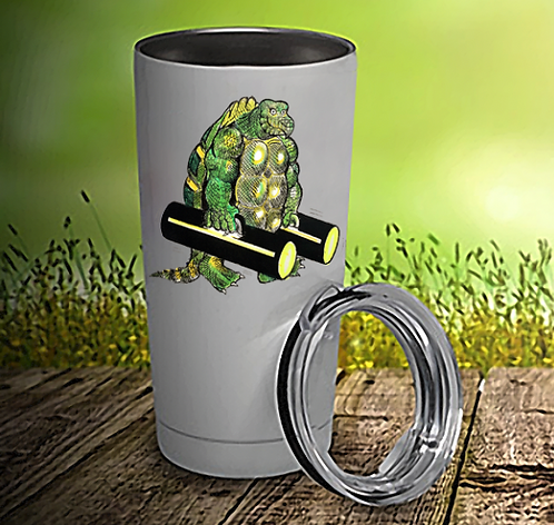 Turtle Man 20oz Travel Mug