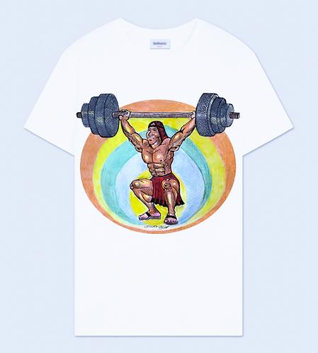 Native Man Workout Crew Neck T-Shirt