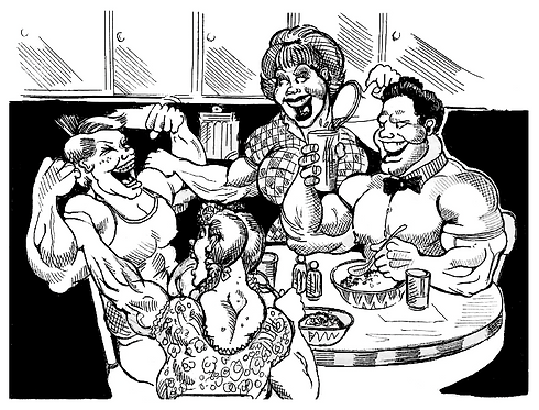 Musclehead Family
