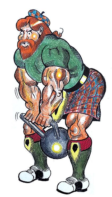 Scottish Weightlifter