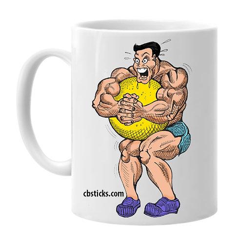 Musclehead With Ball 15oz Mug