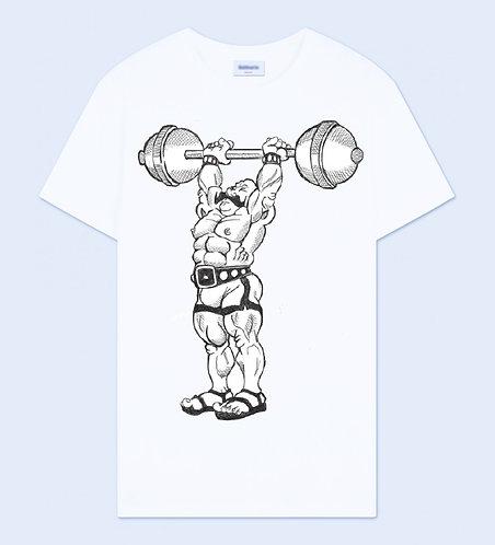 Barbell Man Crew Neck T-Shirt