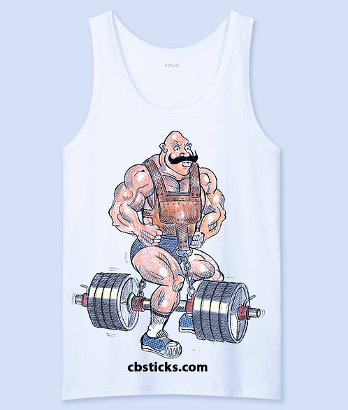 Body Builder 1 Tank Top