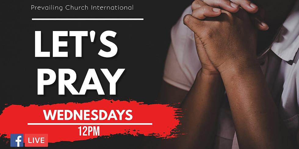 Wednesday - Noonday Prayer
