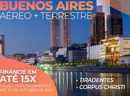 Feriados Buenos Aires (saindo do Rio de Janeiro)