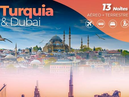 Turquia e Dubai / Dubai e Abu Dhabi