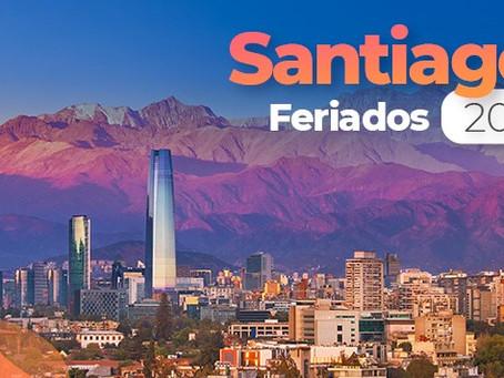 Feriados 2021 para Santiago