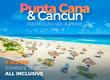 Promoção Punta Cana e Cancún