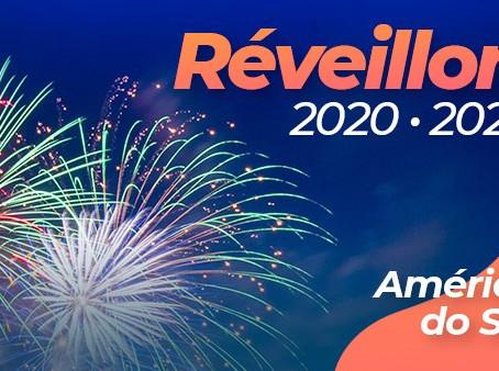 Réveillon 2021 América do Sul