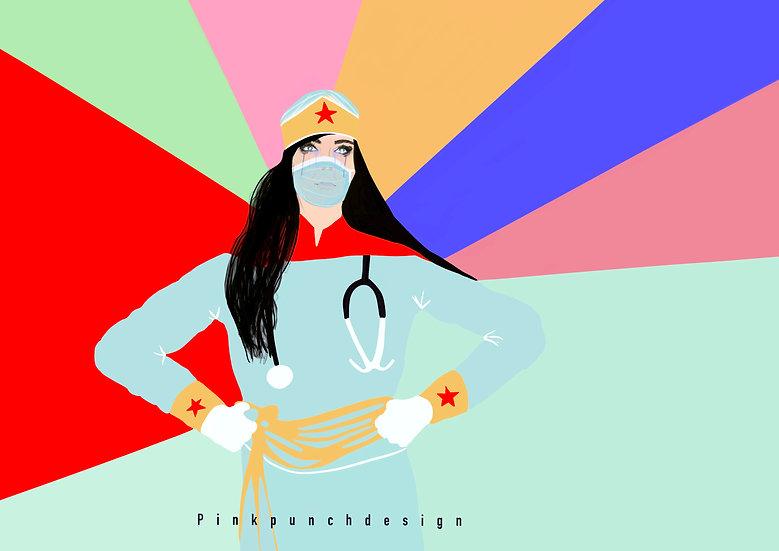 NHS Wonder Woman