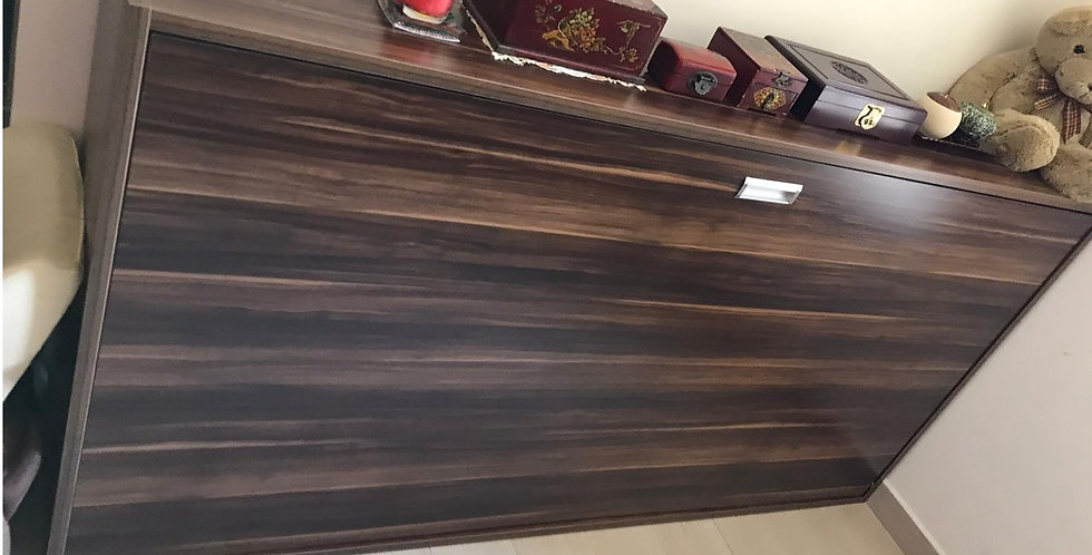 客人訂制  3尺闊側翻隱形床 實物圖片#415