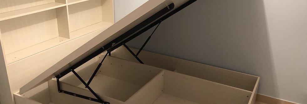 客人訂制  油壓床+揭板床  實物圖片#434