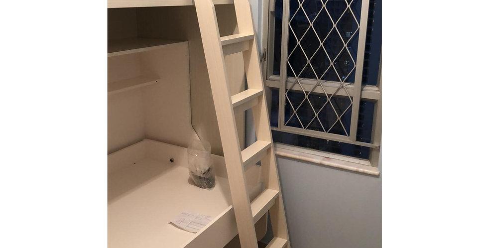 客人訂制  高架床+書桌隱形床  實物圖片#434