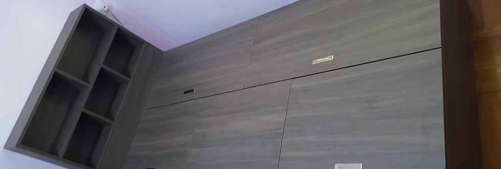 客人訂制 揭板床連床頭櫃架 實物圖片#761
