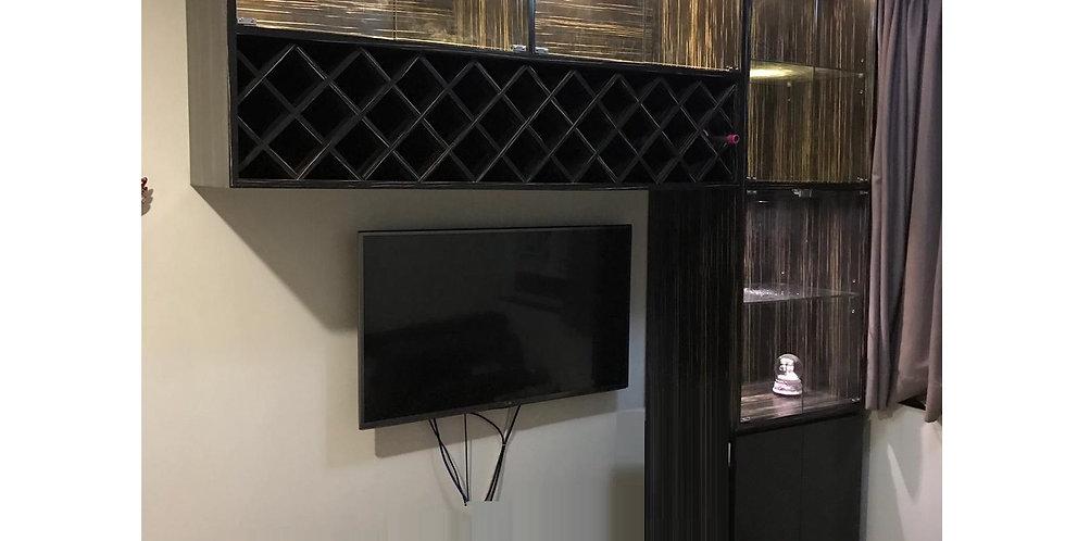 客人訂制 紅酒+裝飾櫃 實物圖片#759