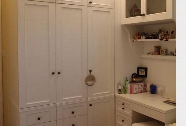 訂造置頂衣櫃書桌組合(每呎) TM100-1022