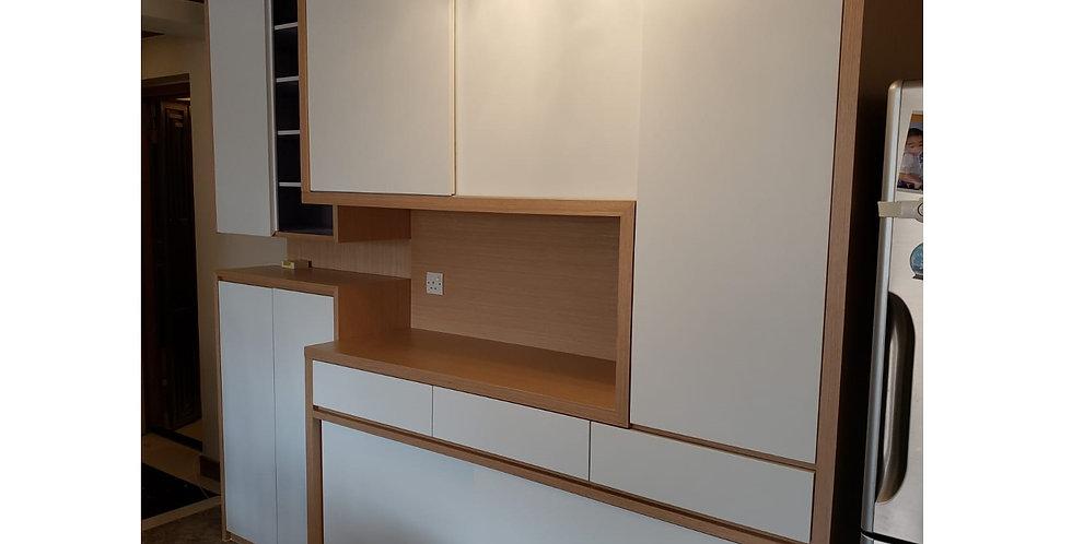 客人訂制 (九龍區) #C字廳櫃+鞋櫃 實物相片#996
