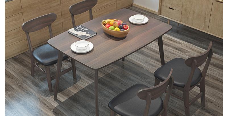 現代簡約長形餐桌餐椅 E103-1047
