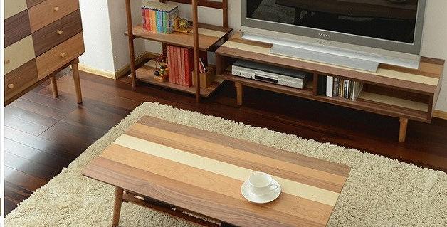 日式拼色摺合茶几 D145-1017