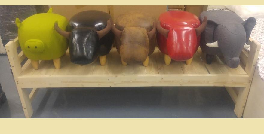 可愛動物櫈 A168-1069