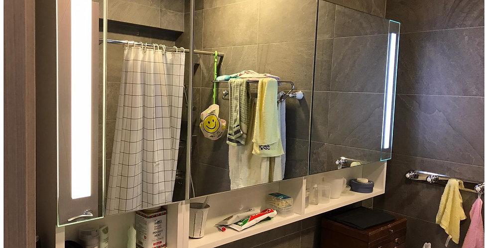 客人訂制  主房及客方廁櫃 實物圖片#769